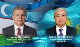 Ўзбекистон ва Қозоғистон Президентлари телефон орқали суҳбатлашди