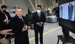 Shavkat Mirziyoyev Texnopark faoliyati bilan tanishdi (+foto)