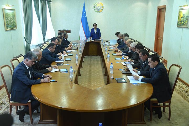 11 октября в Ташкенте пройдет 23-е пленарное заседание Сената