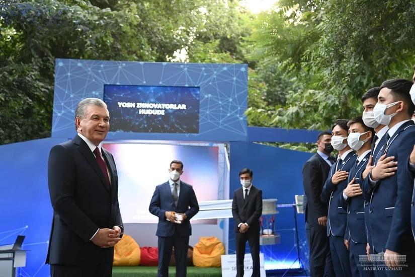 Президент Ёшлар ва талабалар форумига ташриф буюрди (+фото)