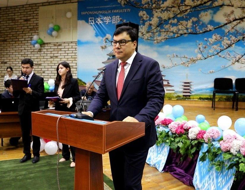 В Ташкентском государственном институте востоковедения состоялась открытие факультета японоведения