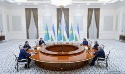Shavkat Mirziyoyev Qozog'iston, Qirg'iz va Tojikiston Respublikalari Bosh vazirlarini qabul qildi
