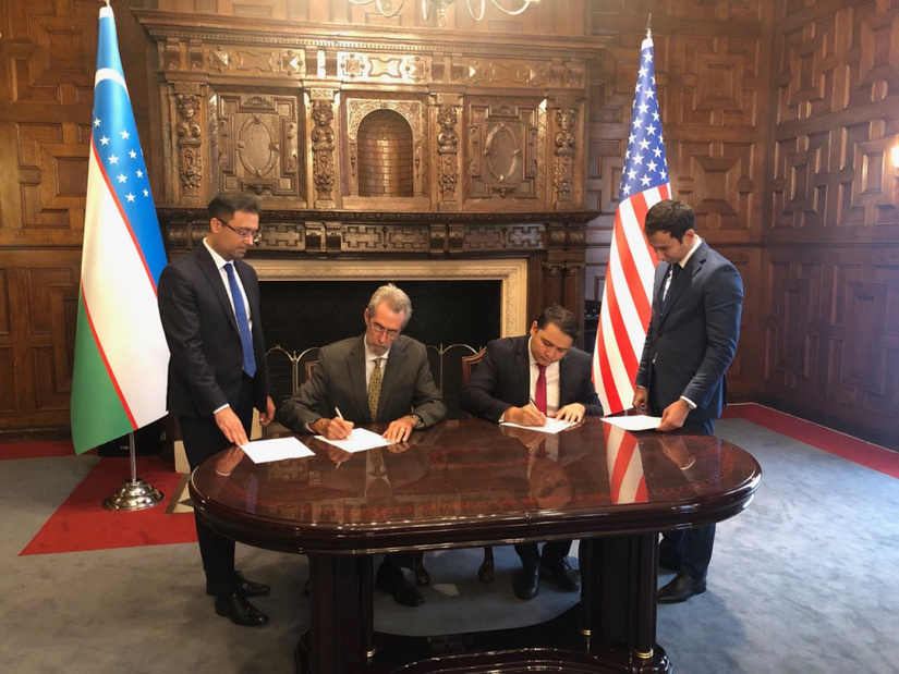 Казначейство США направит постоянных консультантов в Узбекистан