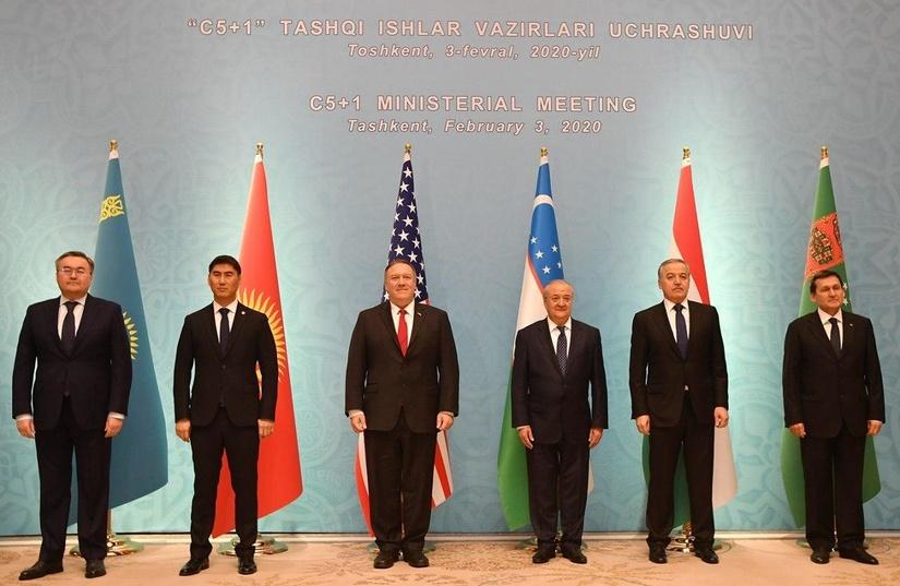 Состоялась встреча глав МИД стран Центральной Азии и США
