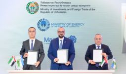 Masdar celebrates groundbreaking on uzbekistan's first wind farm and agrees to extend project capacity