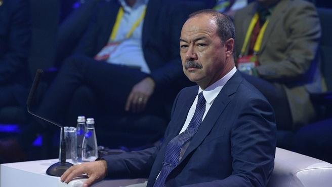 Премьер-министр Узбекистана принял участие в VIII Московском международном форуме «Открытые инновации»