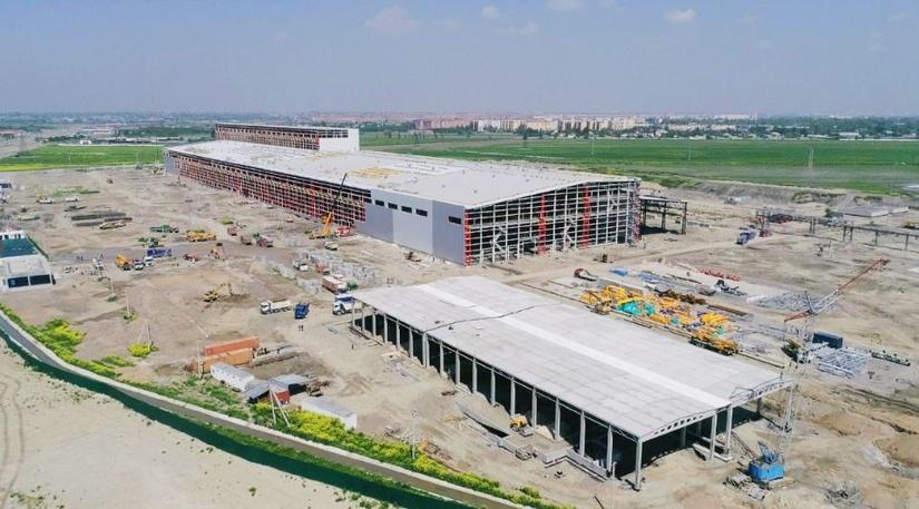 Российская ГК «МетПром» начала монтаж оборудования металлургического завода в Узбекистане