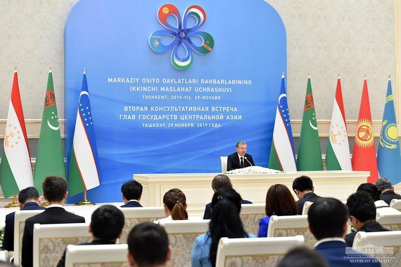 Шавкат Мирзиёев: Мы вступили в качественно новый этап развития регионального диалога на высшем уровне