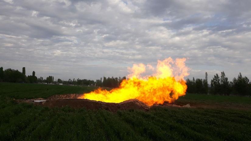 АО «Узбекнефтегаз» получил новый промышленный приток природного газа