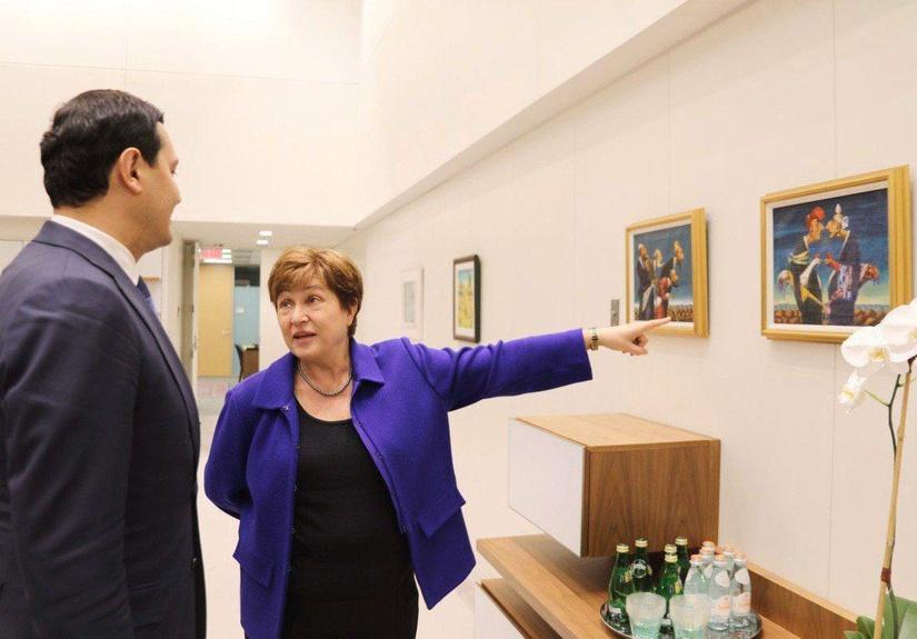 Глава МФВ высоко оценила процессы реформирования Узбекистана