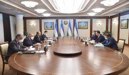 Абдулла Арипов принял министра иностранных дел Кыргызстана