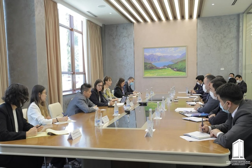 Meeting with the UN Assistant Secretary-General and Director of the UNDP Regional Office for Europe and the CIS