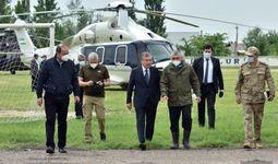 Фоторепортаж: Президент Шавкат Мирзиёев – в Сырдарьинской области