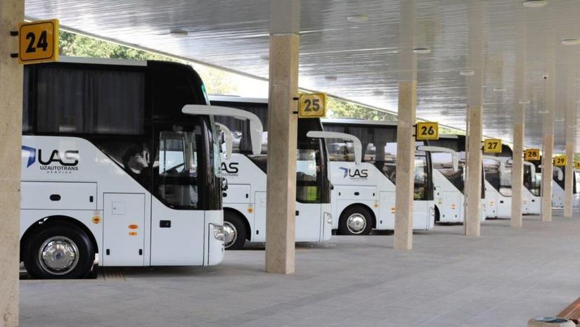 Вилоятлараро автобуслар ва дам олиш масканларига қатновчи автобуслар учун рухсат берилди