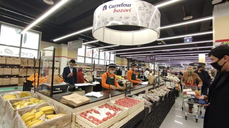 Carrefour супермаркетлар тармоғи Ўзбекистон бозорига кириб келди