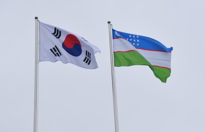 Корея Ўзбекистонни