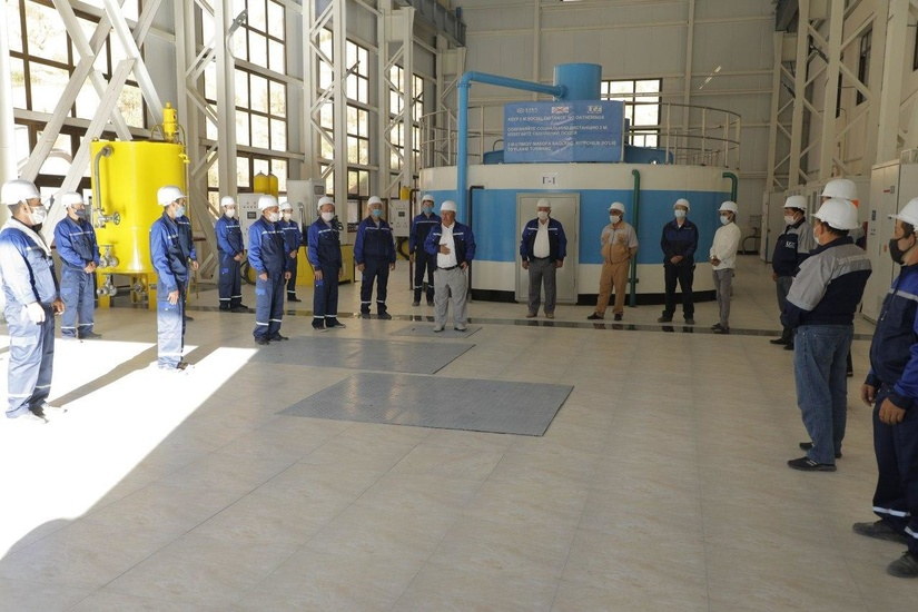 Qodiriya GES modernizatsiyasi: gidroenergetik quvvatlarni oshirish sari