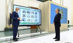 Президент Термиз халқаро савдо марказидаги инвестиция лойиҳаларини кўздан кечирди