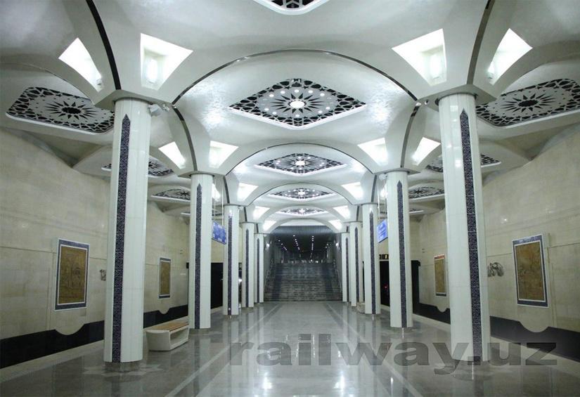 Тошкент метросининг «Юнусобод» йўлидаги 2 та янги бекат қуриб битказилди (фото)