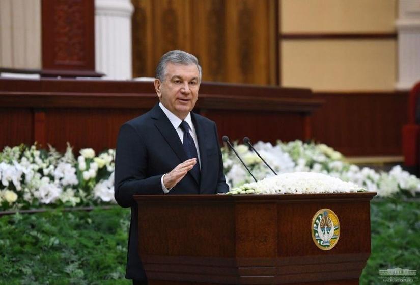 Выступление Президента Шавката Мирзиёева на заседании Законодательной палаты Олий Мажлиса