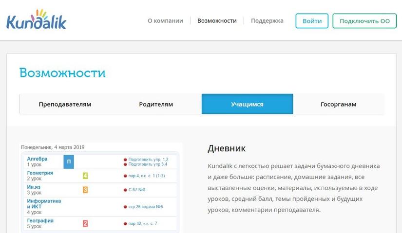 Начинается апробация системы электронных журналов и дневников Kundalik