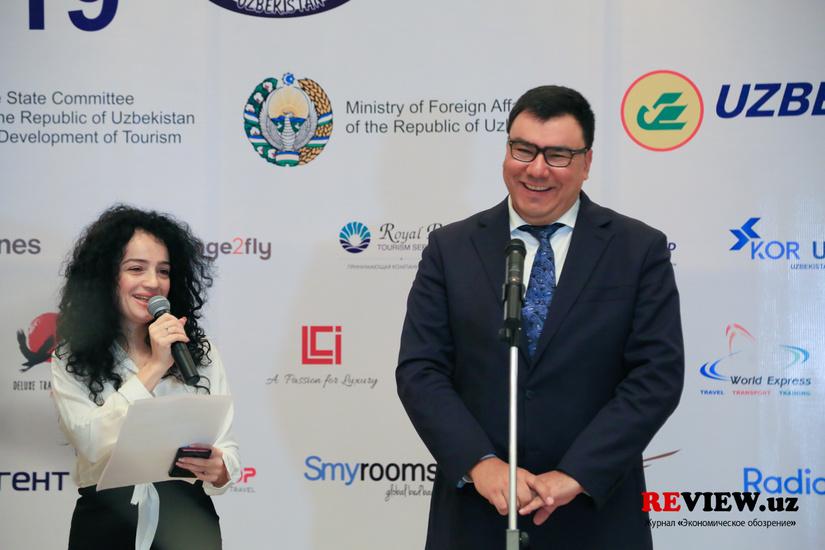Фоторепортаж: открытие выставки в формате B2B Tashkent Travel Mart