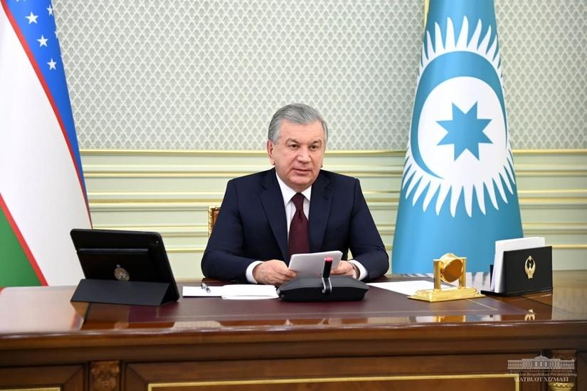 Выступление Президента Республики Узбекистан Шавката Мирзиёева на неформальном саммите Тюркского совета в формате видеоконференции
