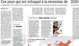 Le Figaro: Узбекистану удалось избежать экономической рецессии в 2020 году