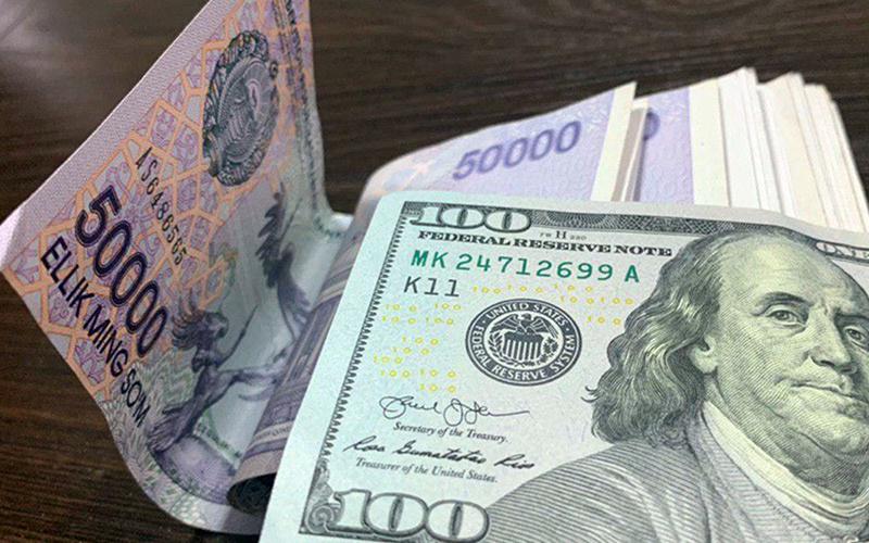 Марказий банк валюта курсларини эълон қилди. Доллар 9 сўмга кўтарилган