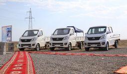 В Намангане начат выпуск мини-грузовиков под китайским брендом Сhangan