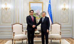 O'zbekiston Prezidenti Dushanbe shahri raisini qabul qildi