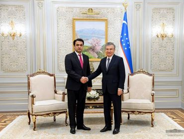 Ўзбекистон Президенти Душанбе шаҳри раисини қабул қилди