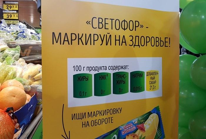 С июля 2021 года в Узбекистане поэтапно внедрят маркировку продуктов с повышенным содержанием соли, сахара и жиров