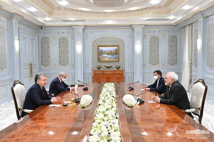 Uzbekistan, Iran discuss access to sea ports, development of transport corridors