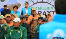Водосберегающий эко-марафон UzWaterAware прошел в Гулистане