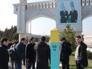 Казахстан приступает к строительству Международного центра торгово-экономического сотрудничества на границе с Узбекистаном