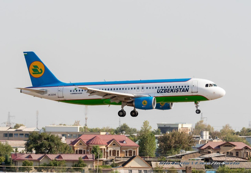 С октября откроется прямой еженедельный чартерный рейс «Ташкент — Киев — Ташкент»