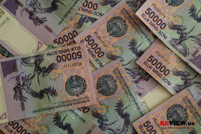 За первое полугодие среднемесячная начисленная номинальная зарплата составила 2,5 млн сумов