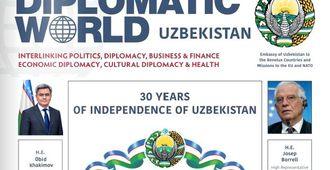 Интервью директора Центра экономических исследований и реформ Обида Хакимова журналу Diplomatic World