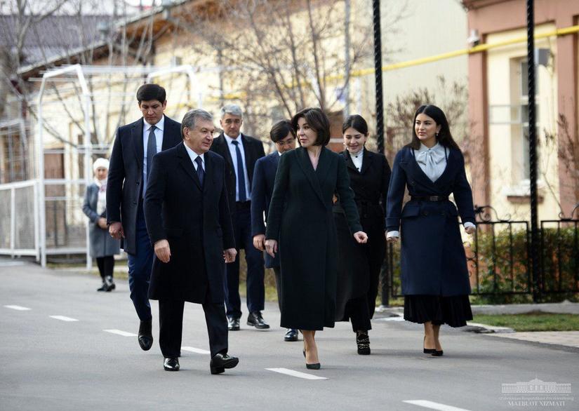 Президент Шавкат Мирзиёев сайловда овоз берди