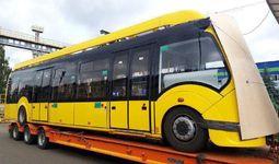 В Ташкент доставили первый автобус, работающий на электричестве
