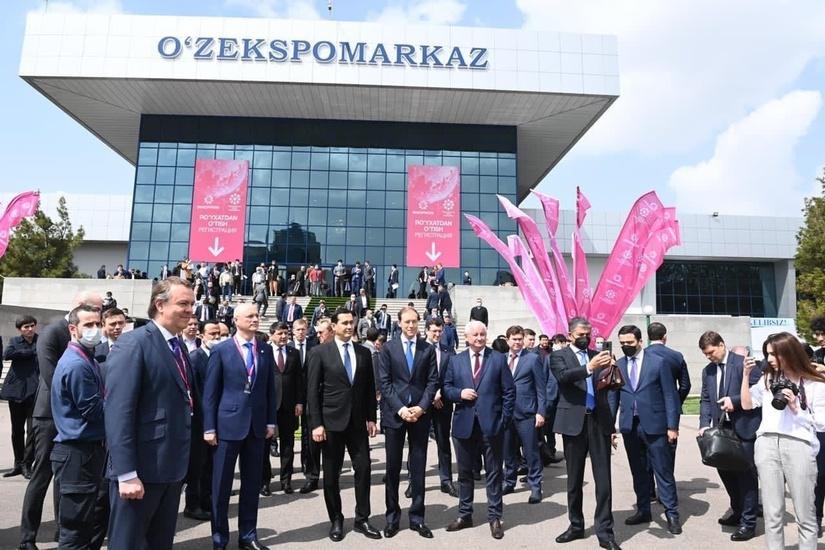 На выставке ИННОПРОМ в Ташкенте подписано 21 соглашение на $128 млн