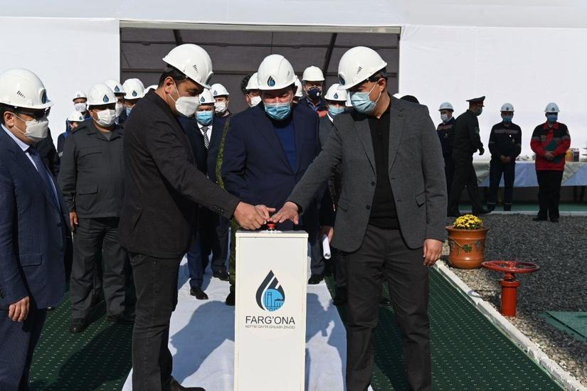 На Ферганском нефтеперерабатывающем заводе начали производить дизельное топливо стандартов Евро-4 и Евро-5
