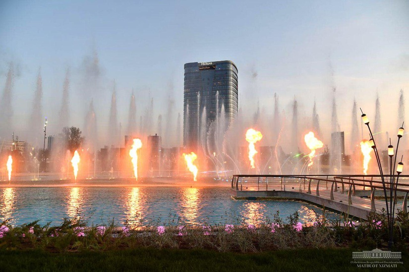 Фото: в Ташкенте достроили отель Hilton