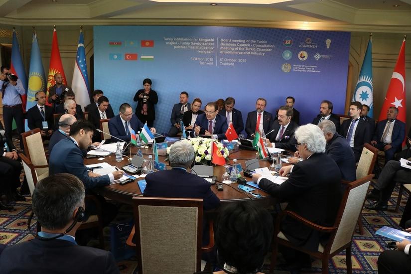 Заседание Тюркского делового совета впервые состоялось в Ташкенте