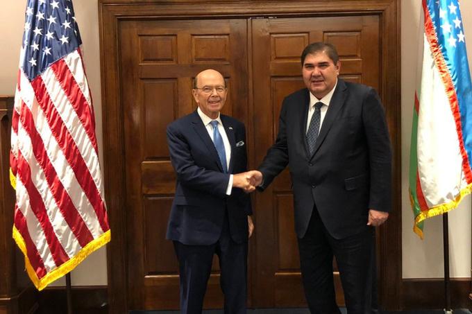Сертифицированная торговая миссия Министерства торговли США впервые посетит Узбекистан