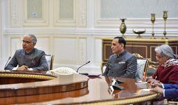 Шавкат Мирзиёев принял делегацию индийского штата Гуджарат