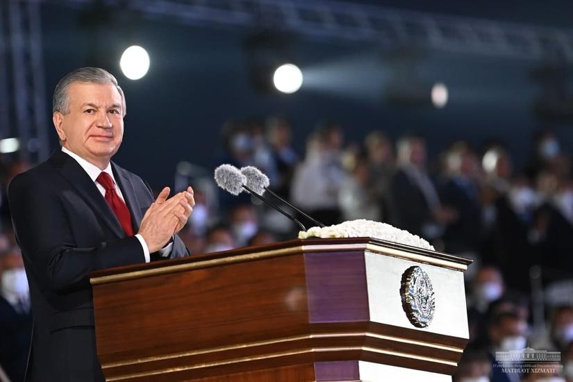 Выступление Президента Шавката Мирзиёева на церемонии, посвященной 30-летию независимости Узбекистана