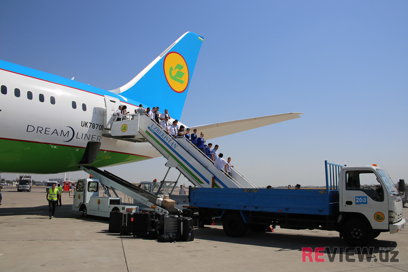 НАК «Узбекистон хаво йуллари» объявила скидки до 50% на авиабилеты