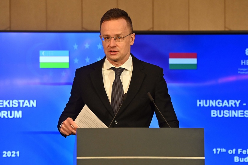 FM Szijjártó Praises Cooperation between Hungary and Uzbekistan